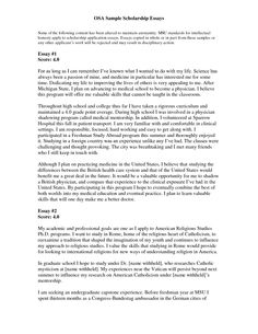 Essay Intro Paragraph Layout