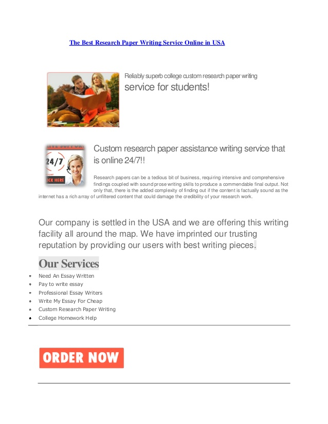 Online paper writers speech